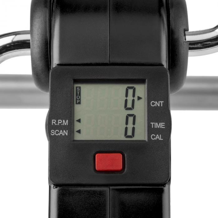 Continus Pro minikuntopyörä käsi- ja jalkapolkimet näyttö taitettava musta