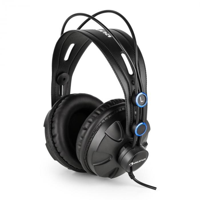 HR-580 studio koptelefoon over-ear headphones gesloten - blauw