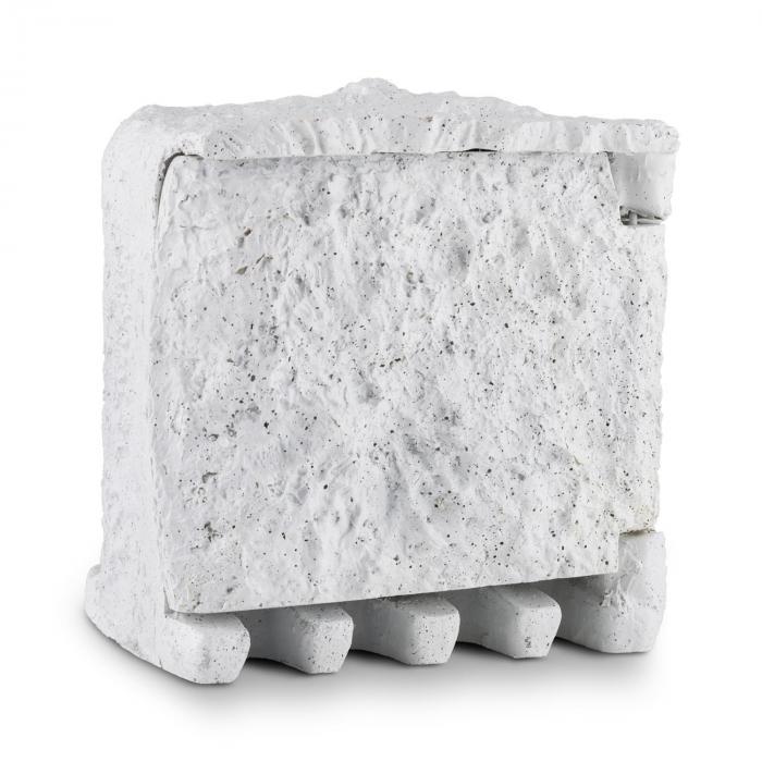 Power Rock enchufes de jardín 4 tomas repartidor 1,5m imitación piedra
