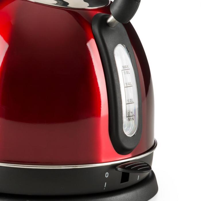 Klarstein Teatime vattenkokare tekanna 1850 2200 W 1,8 l