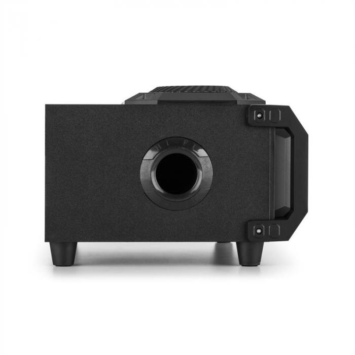 SPLBOX150 kannettava 2.1-audiojärjestelmä 200 W bluetooth USB/SD FM LED