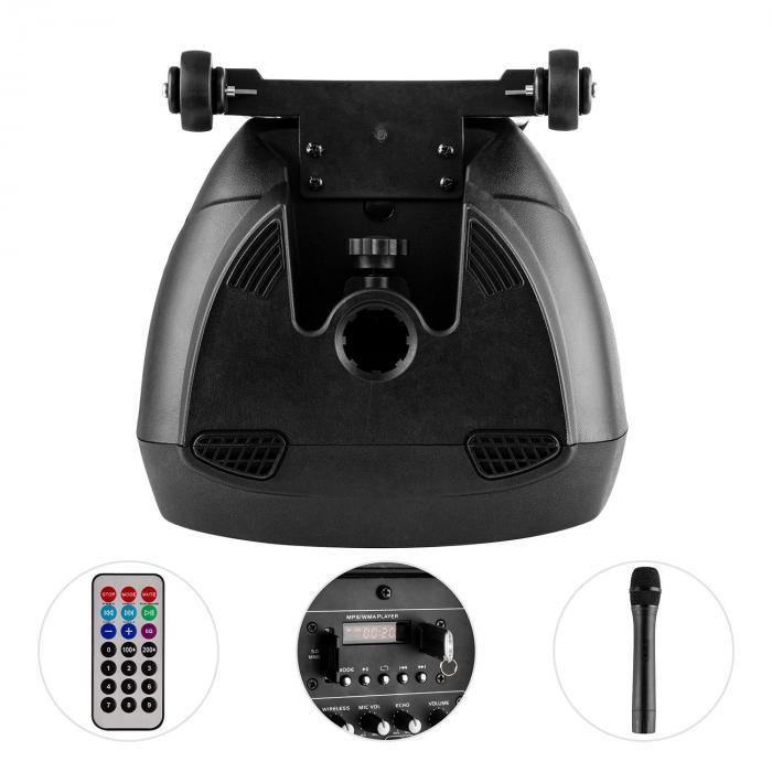 HYBRID10VHF-BT altavoz PA activo Bluetooth USB SD VHF