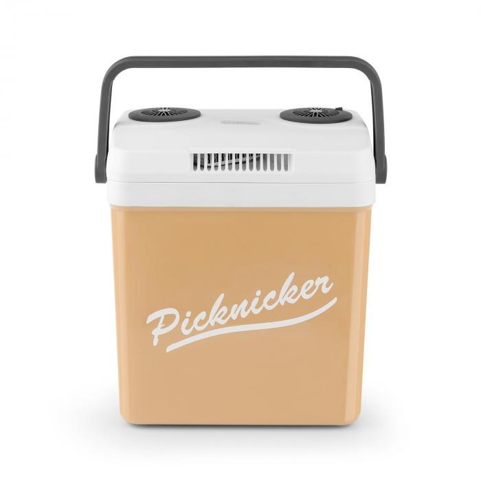 Picknicker XL Borsa Termica Caldo/Freddo 32L A++ AC DC Auto albicocca