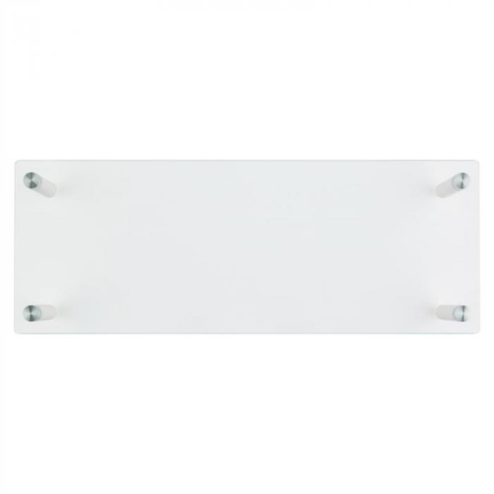 M-Riser Supporto per Schermo Mensola TV56x8,5x21cm 20kg Vetro