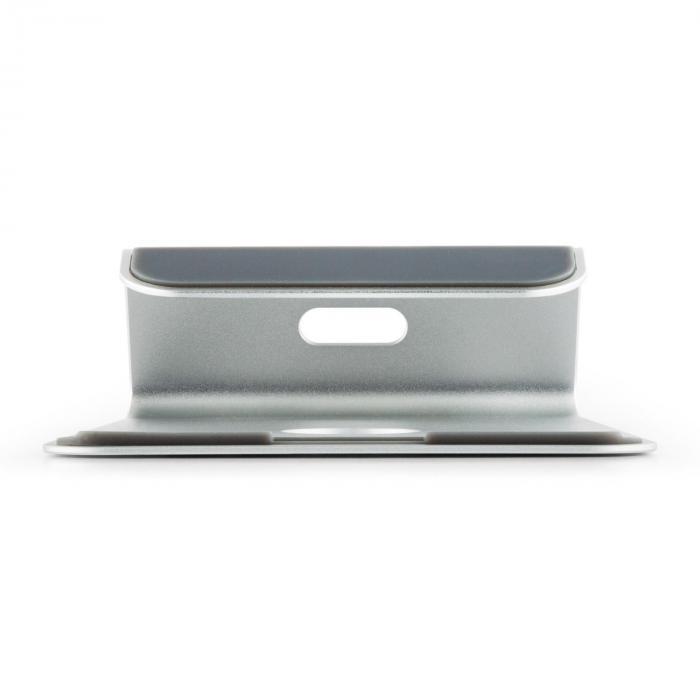 A-ST-1 podstawka pod laptop i notebook 18° aluminium srebrna