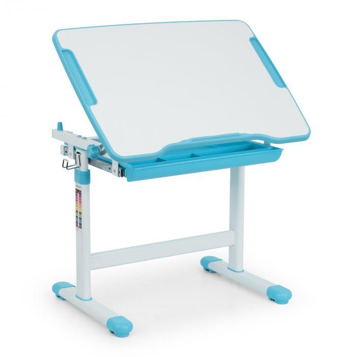 Tommi Set Secretária Crianças Mesa e Cadeira ajustáveis em altura Azul