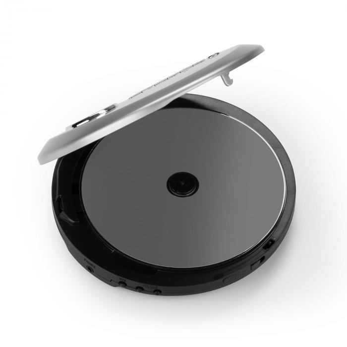 CDC 100MP3 Discman Disc Player LCD ASP Bass Amplification 2x1.5V Silver