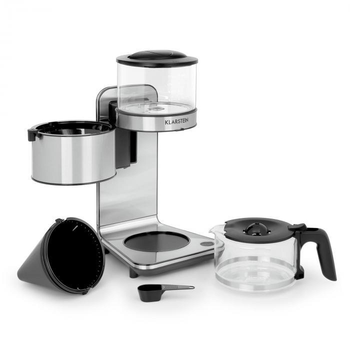 Soulmate Macchina del Caffè a Filtro 1800 W Vetro Acciaio