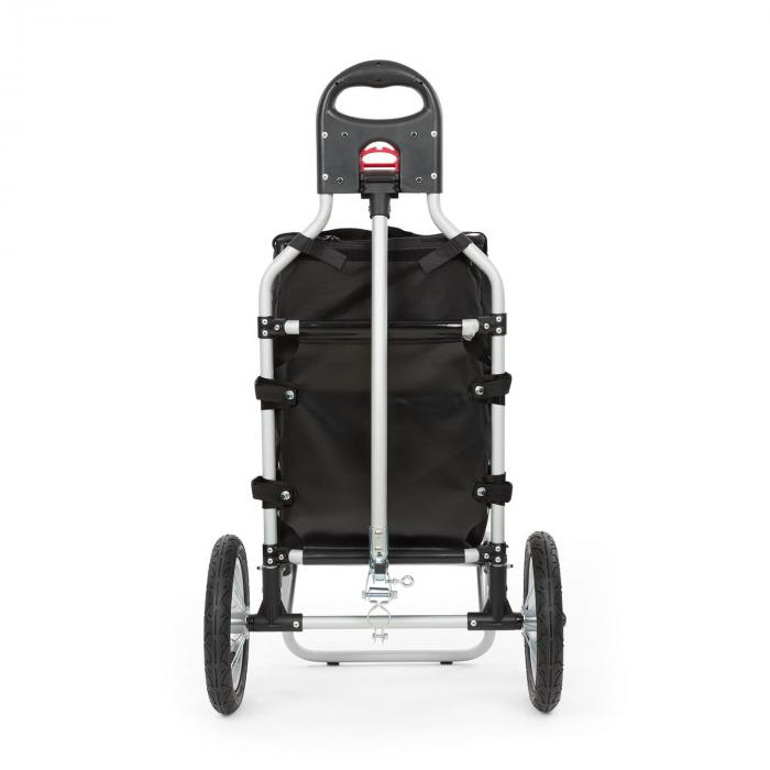 Carry Red Bicycle Trailer Trolley Max. Capacity 20 kg black/red