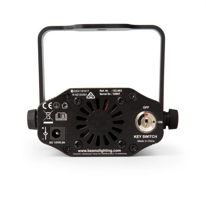 Titania tuplalaser 200mW RG gobo laserluokka 3B infrapunakaukosäädin