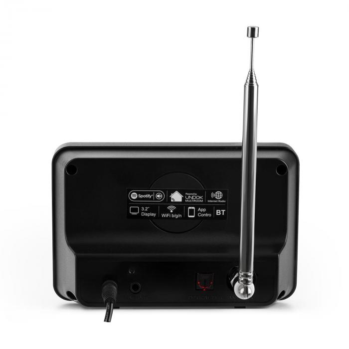 iAdapt 320 Internet Radio Adapter WLAN DAB / DAB + AM / FM TFT Display Black