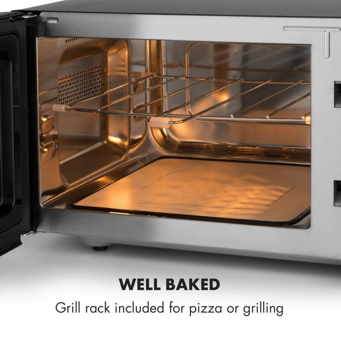 Brilliance Roomy Mikrowelle | Mikrowelle: 900W | Grill
