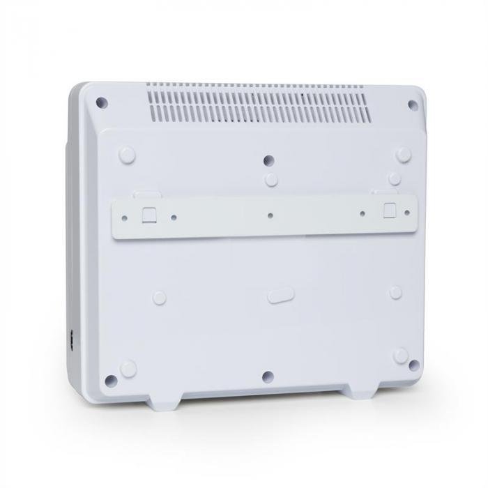 Dalmatien Purificador de Ar Ionizador Lâmpada UV Branco