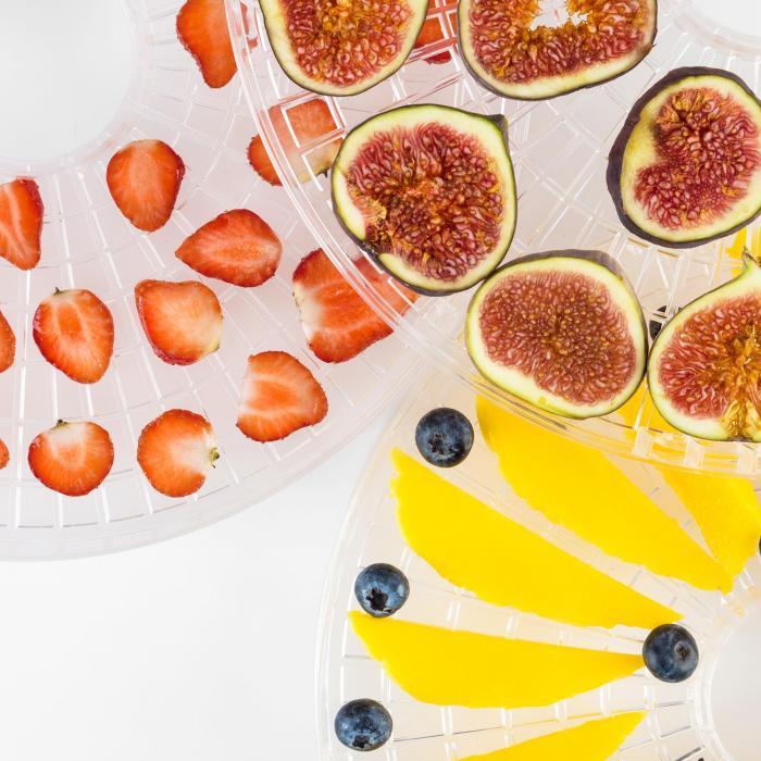Fruitower M Dörrautomat 35-70°C 5 Ablagen 200-240W Edelstahl