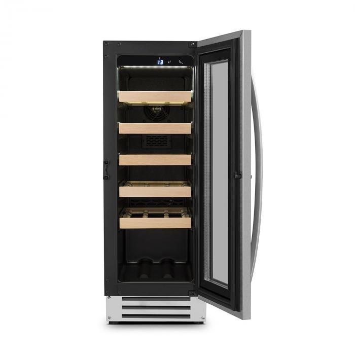vinovilla smart cave vins 50l 20 bouteilles porte en verre inox electronic star fr. Black Bedroom Furniture Sets. Home Design Ideas