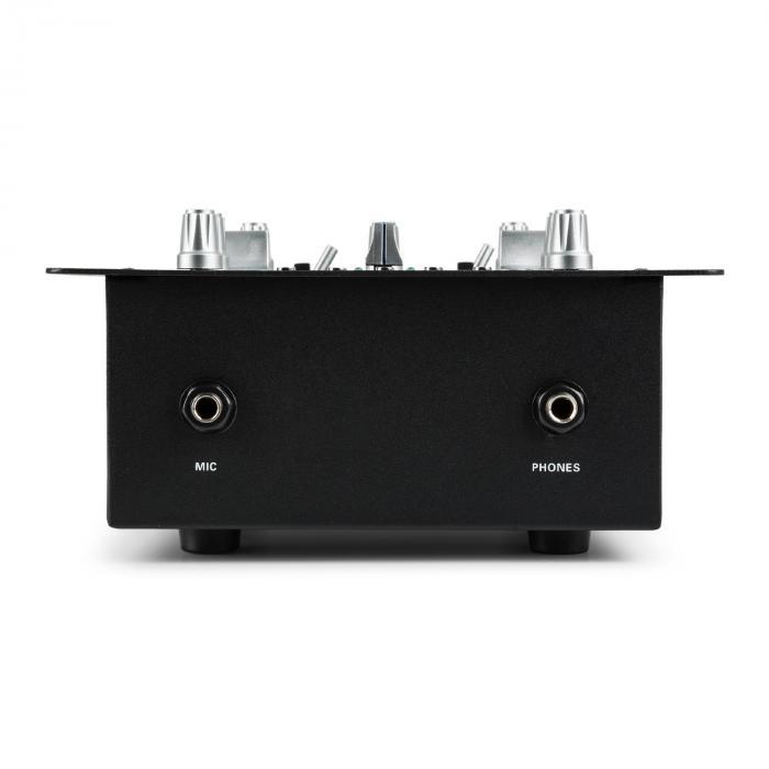 DJ-25 Set Mixer per DJ + Casse auna ST-2000 nero/blu
