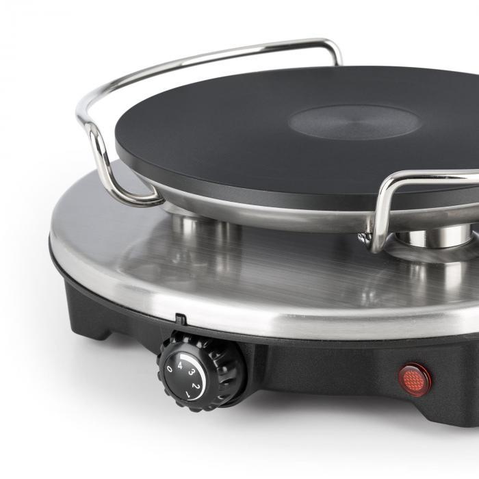 Sirloin fondue-setti keramiikkakattila 1200W termostaatti musta