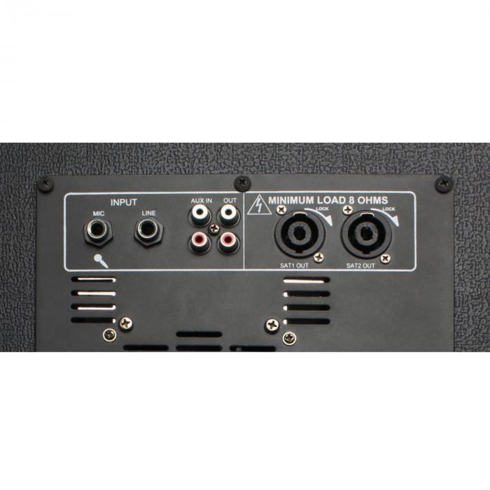 """VX840BT 2.1 aktiivikaiutinsetti 15"""" subwoofer 2 x 8"""" kaiutin 900 W max."""