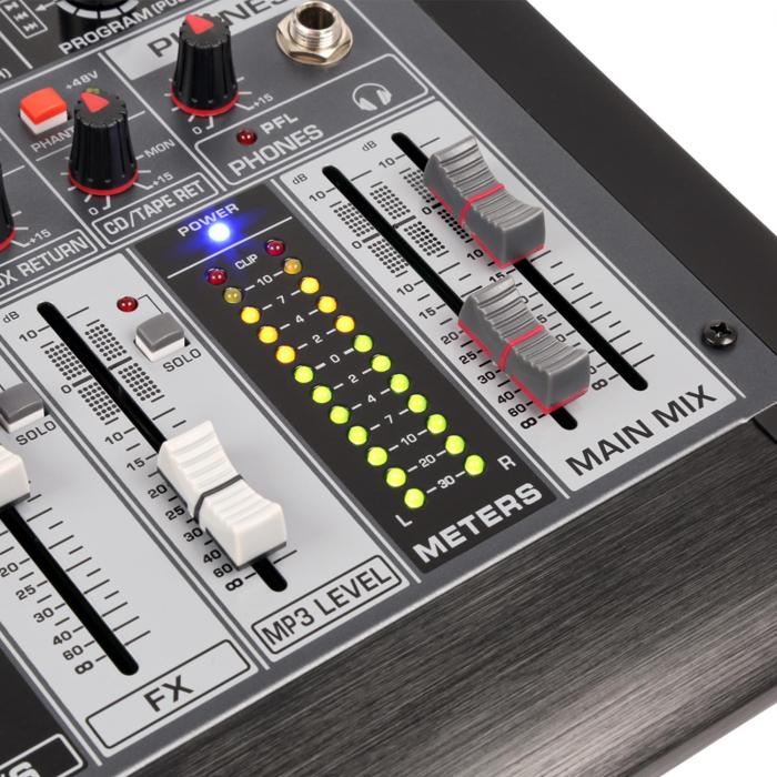 Power Dynamics Pdm S1204 12 Channel Mixer Dsp Mp3 Usb