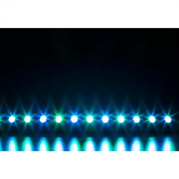 LCB140 LED-lista 12x 6W LEDit 25W 2, 3, 4 tai 8 DMX-kanavat himmennin 0-100%