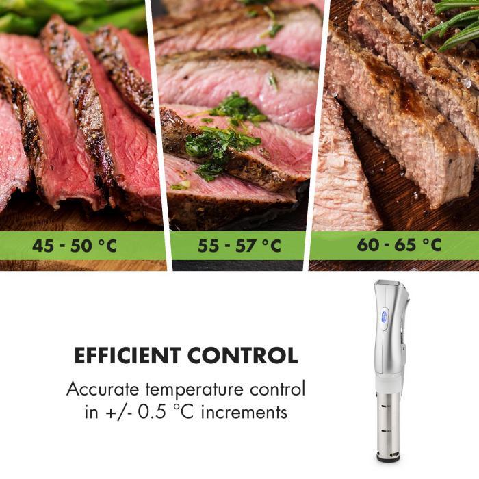 Quickstick Circolatore per Sottovuoto 3D Circulation 50-95 °C argento