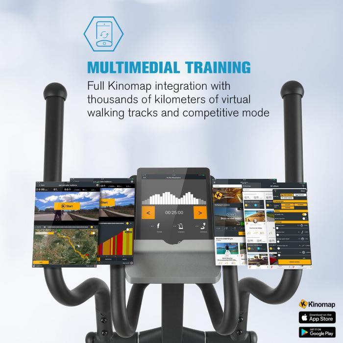 Helix Star MR Cross Trainer Bluetooth App 21kg Schwungmasse