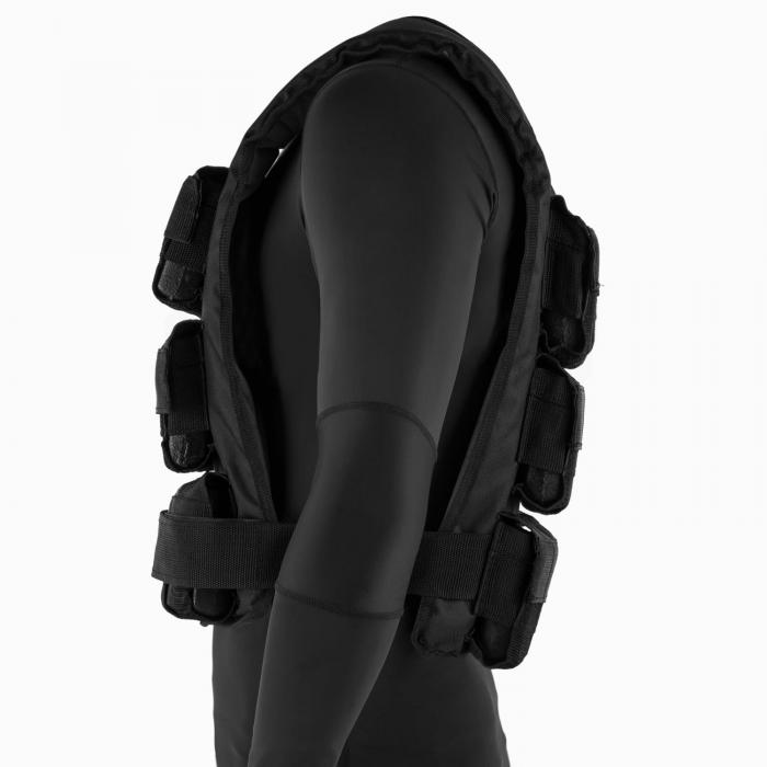 Monstervest Weight Vest 25 kg Uni-Size Nylon Black