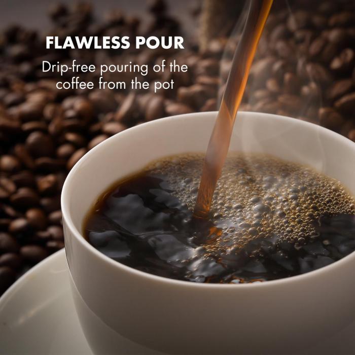 Coffee Maker Arabica 800W EasyTouch Control Silver / Black