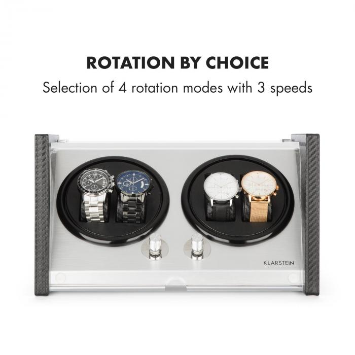 tokyo 4 uhrenbeweger 4 uhren 3 geschwindigkeiten 4 modi schwarz 4 uhren online kaufen. Black Bedroom Furniture Sets. Home Design Ideas