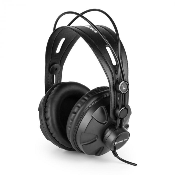 HR-580 słuchawki studyjne nauszne zamknięte czarne