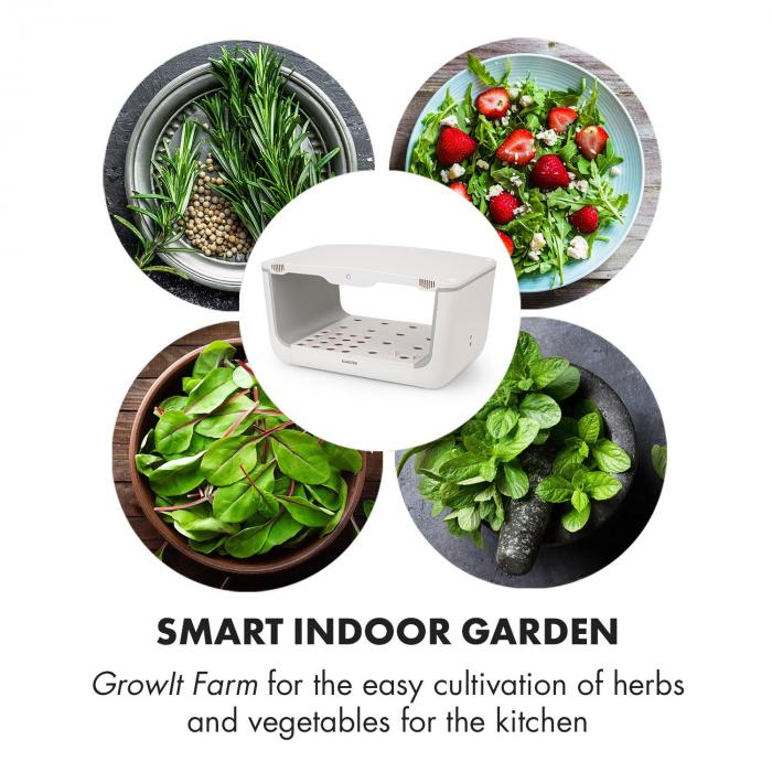 GrowIt Farm 3 Etagen Kit 3x Smart Indoor Garden anslutningsset