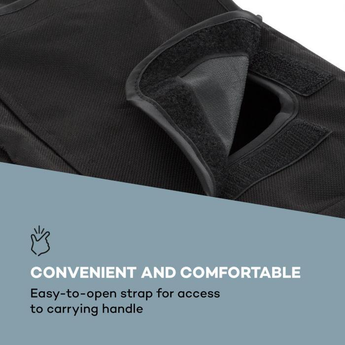 "PA Cover Bag 8 PA-kaiuttimen 8"" suojakotelo nylon musta"