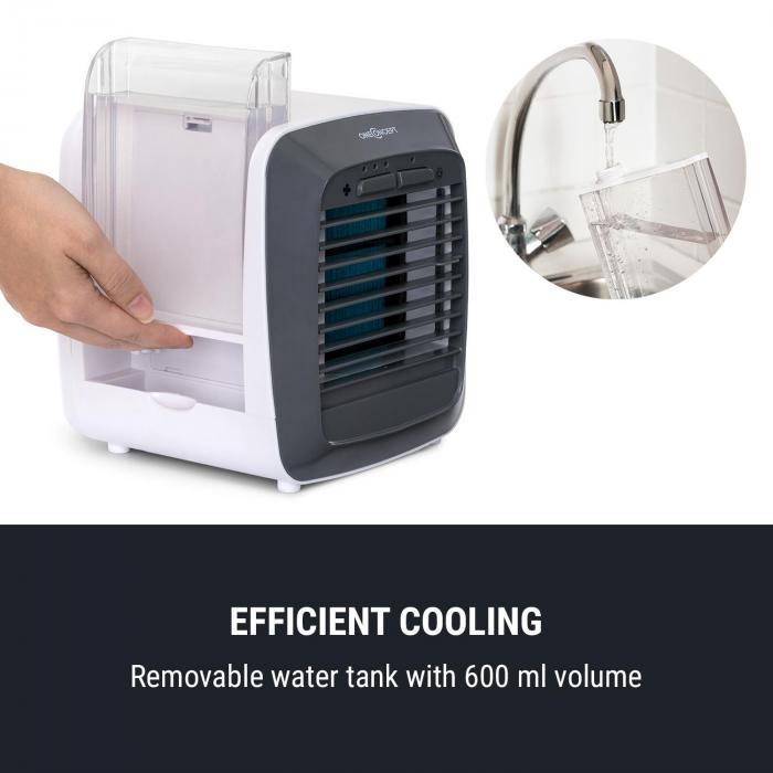 IceCube Air Cooler 6W 3 Windgeschwindigkeiten 600ml weiß