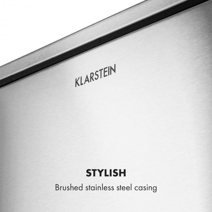 Trash Gordon Pedal Bin 30L / 2x15L Noiseless PP Brushed Stainless Steel