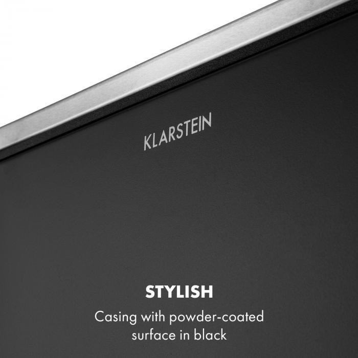 Trash Gordon Pedal Bin 30L / 2x15L Noiseless PP Stainless Steel Black