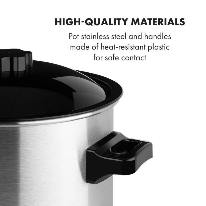 Biggie Eco Automatic Preserving Cooker & Beverage Dispenser 1000W 30-100 ° C Tap 9l