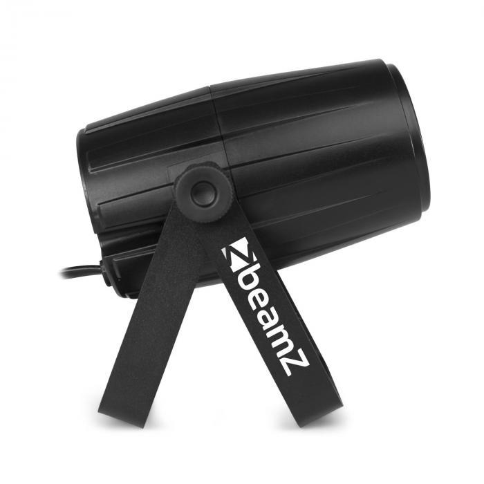PS21W LED Pin-Spot 12W 4in1 LED RGBW IR-Fernbedienung schwarz