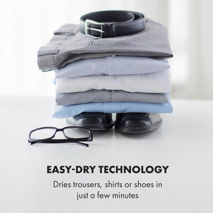 ShirtButler Pro automaattinen kuivausjärjestelmä 1200 W 2 in 1 70 °C ajastin