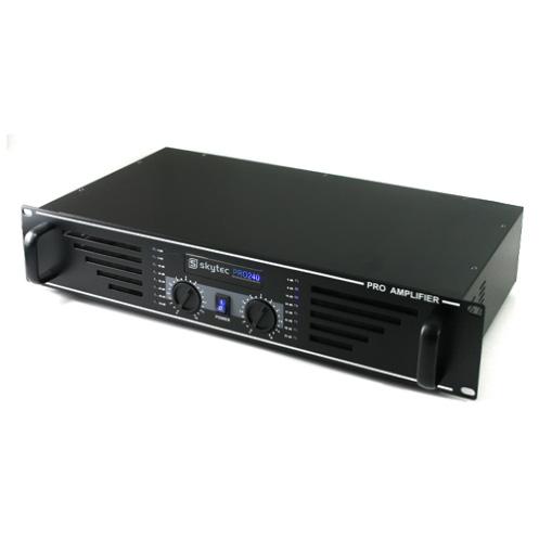 Equipo DJ PA Nizza Nights Pro 2x amplis 4x altavoces