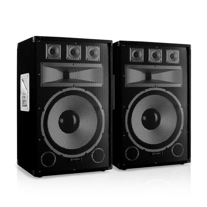 "Set PA ""Warm Up Party TX15"" Casse 38cm amplificatore 2000w"
