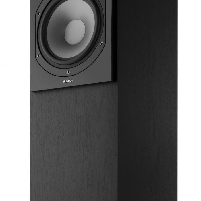 Reference 851 5.1 äänijärjestelmä musta sis. suojuksen hopea
