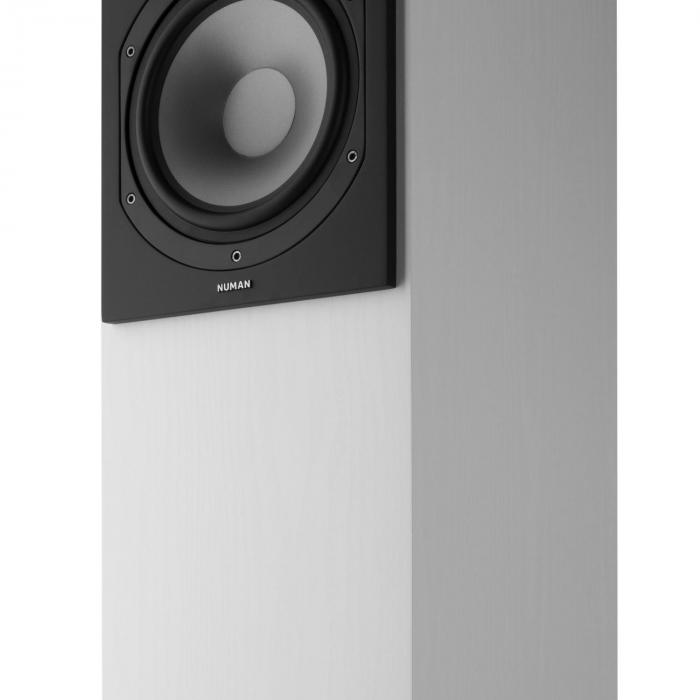 Reference 851 5.1 äänijärjestelmä valkoinen sis. suojuksen hopea