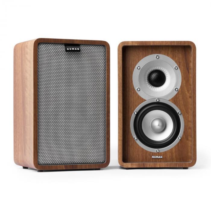 Retrospective 1979-S 5.1 -äänentoistojärjestelmä pähkinä suojus harmaa