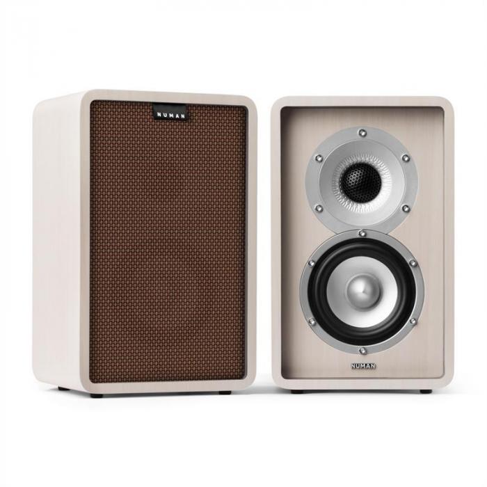 RETROSPECTIVE 1978 MKII 5.1 Soundsystem bianco incl. Cover marrone