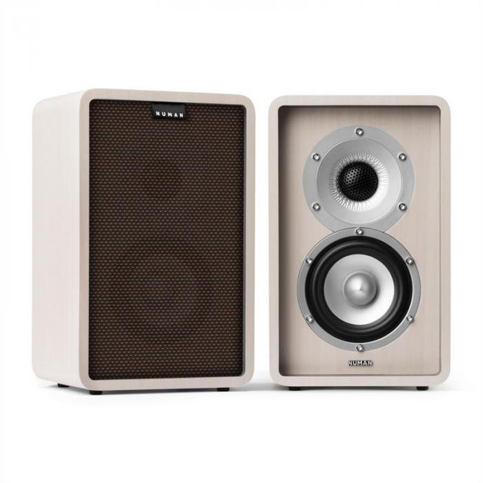 RETROSPECTIVE 1978 MKII 5.1 Soundsystem bianco incl. Cover nero-marrone