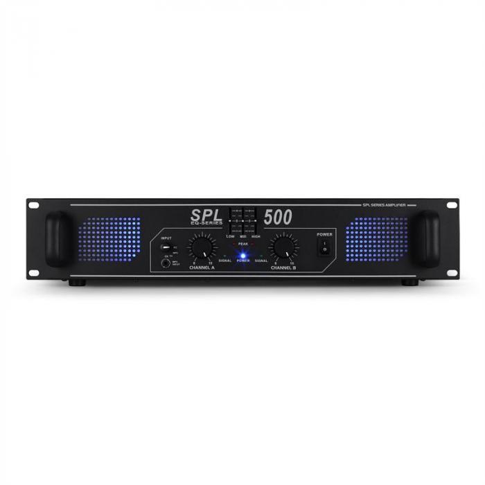 Set de sono DJ avec ampli DJ14 haut-parleurs 8, 2 x 200W RMS, montage rack micro et cablage 2 enceintes