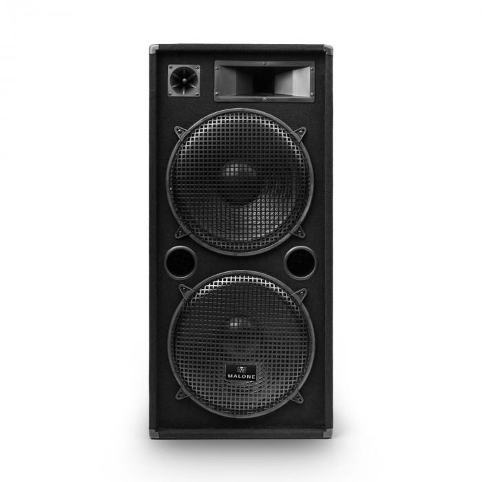 """eStar 15 Zoll Set PA per Party Amplificatore Digitale/2 Casse a 3 Vie da 15""""/incl. Cavo"""