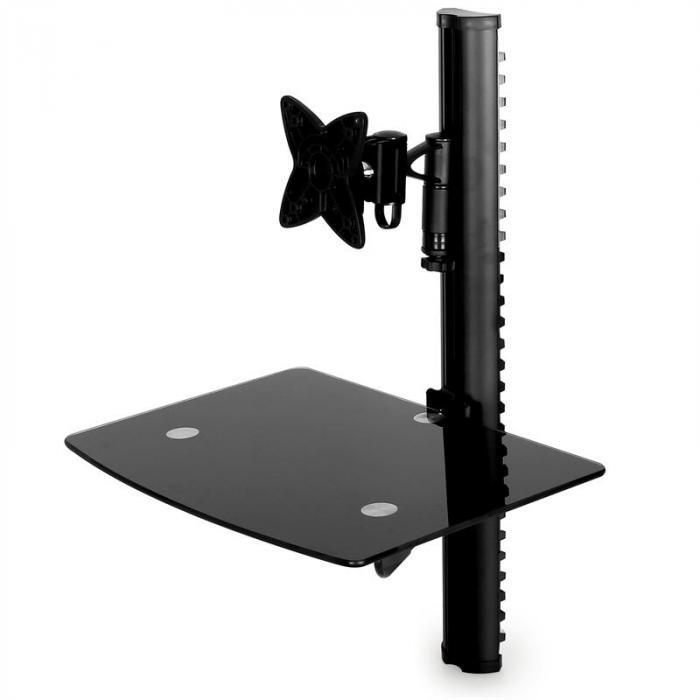 LCD-kääntövarsi-seinäkiinnitin kotiteatteriräkki <25kg <58cm