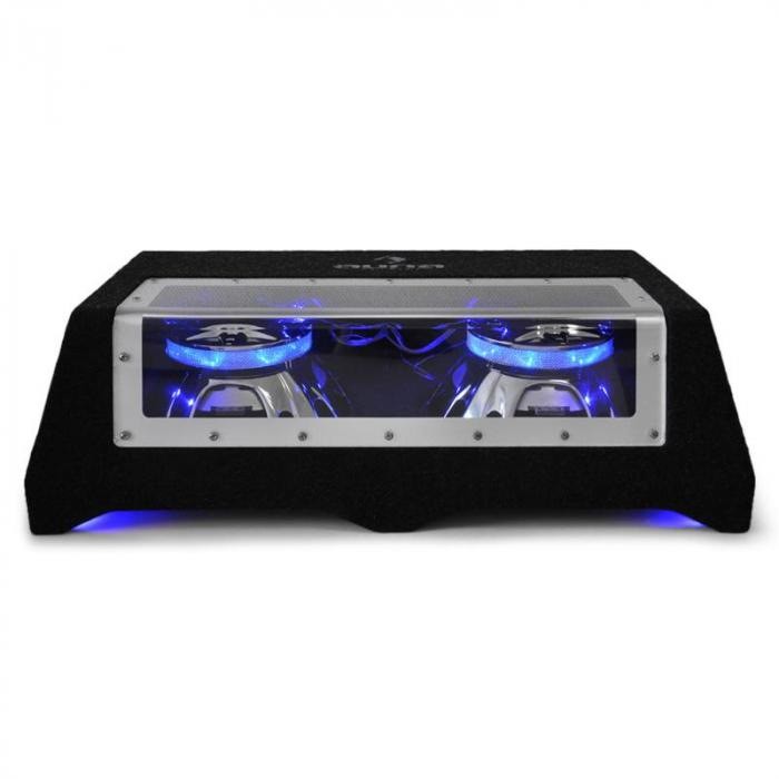 "CB350-50 2 X 12"" Car Hifi Dual Subwoofer Light Effects"