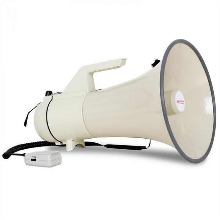 Profi Megafoni, 160W, mikrofoni, 2400m